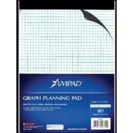 36 of Ampad Letter Size Quad Pad, 80 Sheets, White