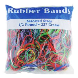 48 of Assorted Dimensions 227g/ 0.5 Lbs. Rubber Bands