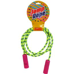 96 of Skipping Jump Rope W/peg Able Header