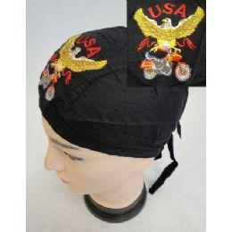 96 of Wholesale Skull Caps Motorcycle Hats Usa Eagle Bike Embroidery