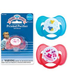 72 of Baby King Printed Pacifier