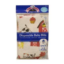 144 of Baby King Disposable Bibs