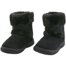 24 of Children's Winter Boots With Faux Fur Lining And Side Zipper