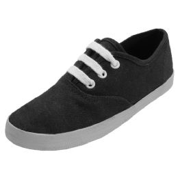 24 of Girl's Canvas Shoes Sizes: