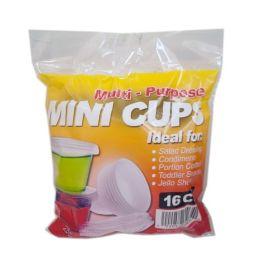 96 of 16ct Mini Condiment Cups