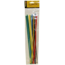96 of 20pc 14 In Cable Ties Assorted Colors