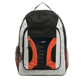 20 of 16.5 Inch MiD-Size Cool Backpack For Kids, Bulk Case Of Orange