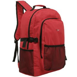 20 of Mggear 19 Inch Oversized Wholesale College Backpacks, Red