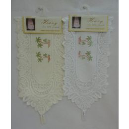 60 of Lace Table Runner [palm Trees]