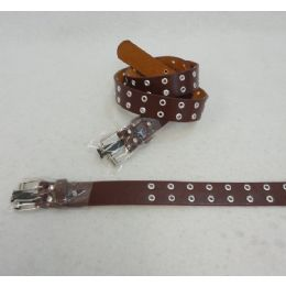 48 of Double Prong Belt Buckle In Brown