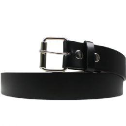 36 of Size Small Black Plain Belts