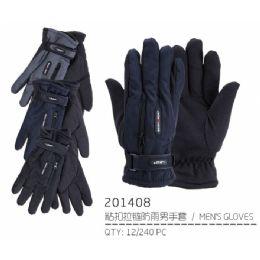 72 of Men's Warm Winter Ski Glove With Zipper Pocket