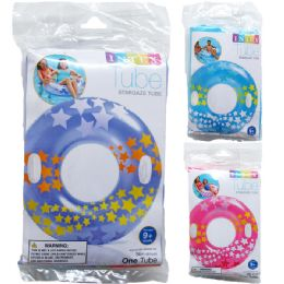 """24 of 36"""" Stargaze Tubes In Peggable Poly Bag, 3 Assrt Clrs"""