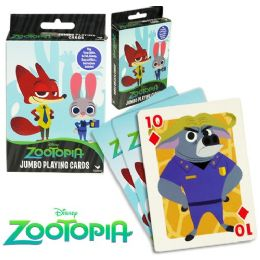 36 of Disney's Zootopia Jumbo Playing Cards
