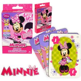 48 of Disney's Miniie's BoW-Tique Jumbo Playing Cards