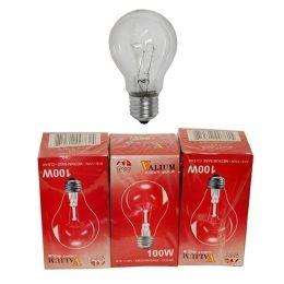 80 of 3pc Clear Light Bulbs 100w