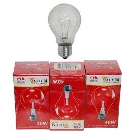 80 of 3pc Clear Light Bulbs 40w