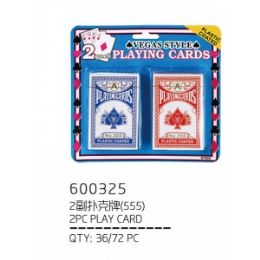 72 of 2 Piece Playing Card
