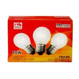 80 of 3pc Clear Light Bulbs 60w