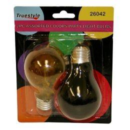 96 of 2pc Light Bulb Asst Colors