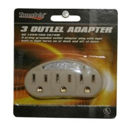 96 of 3 Outlet Adapters