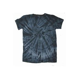 60 of Youth Black Spider Tye Dyed Tee Shirt