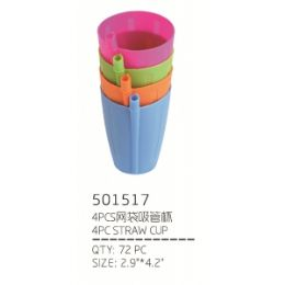 72 of Straw Cup 4 Piece