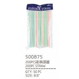 50 of 200 Piece Straws