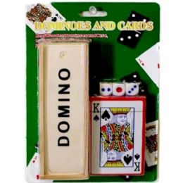 72 of Dominoes Card Dices Set