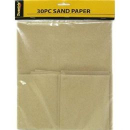 96 of 30 Piece Sandpaper Asst Size 13.5x9 Inches