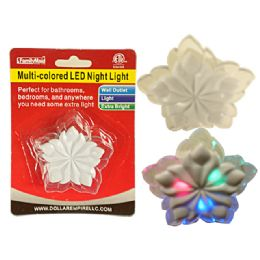 96 of Led Multicolored Flower Night Light Wall Outlet