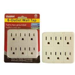 96 of 6 Outlet Wall Tap Adapter