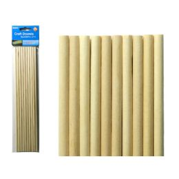 96 of Craft Wooden Dowel 10pc
