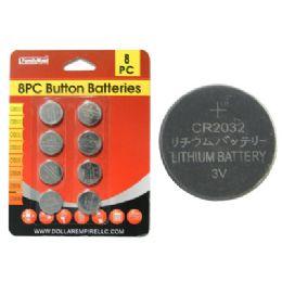 144 of 8pc 3v Batteries