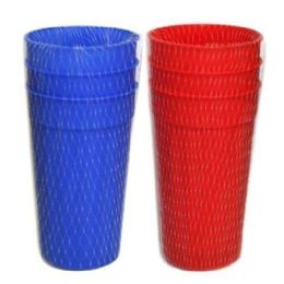 96 of 3 Piece Cups 28 Oz Assorted
