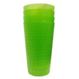 96 of 4 Piece Plastic Cups 22oz