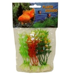 240 of Plastic Plant Medium Size Assorted Colors