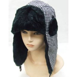 24 of Plaid Trapper Hat