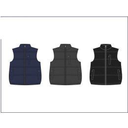 12 of Men's Reversible Nylon Fleece Vest
