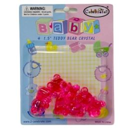 144 of Baby Favor Teddy Bear Crystal 4ct