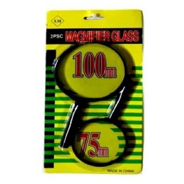 120 of 2pc Magnifying Glass 100mm And 75mm