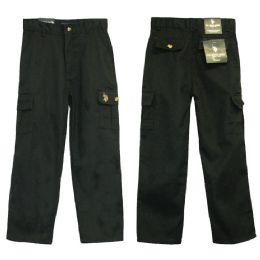24 of Boys Adj. Waist Cargo Pants