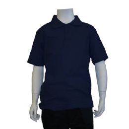 72 of Boys School Polo Shirts Assorted Sizes