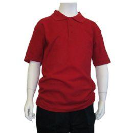 72 of Boys School Polo Shirts
