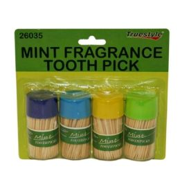96 of 4pc Mint Fragrance Tooth Picks