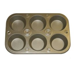 72 of 6 Cup Muffin Pan 2.9 Inches
