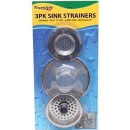 96 of 3 Piece Sink Strainers