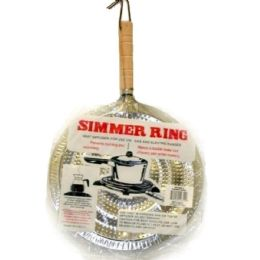 144 of Simmer Ring With Wooden Handle 21cm