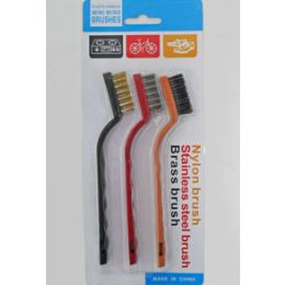 144 of 3 Pack Small Wire Brush