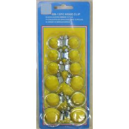 144 of 12pc Pipe Clip Assorted Sizes